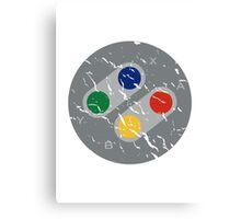 SNES Controller Buttons Canvas Print