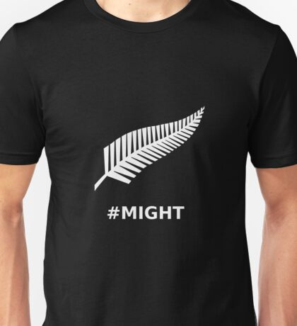 All Blacks Might Fern Unisex T-Shirt