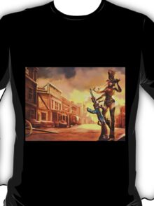 Caitlyn Sheriff Lol League of Legends T-Shirt