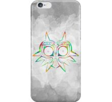 Majora's Mask Lines Color iPhone Case/Skin