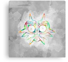 Majora's Mask Lines Color Metal Print