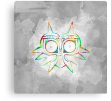 Majora's Mask Lines Color Canvas Print