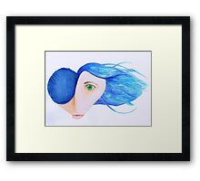 Punk At Heart in Pencil 2014 Framed Print