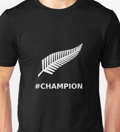 All Blacks Champion Fern Unisex T-Shirt
