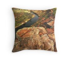 Murchison River, Western Australia Throw Pillow