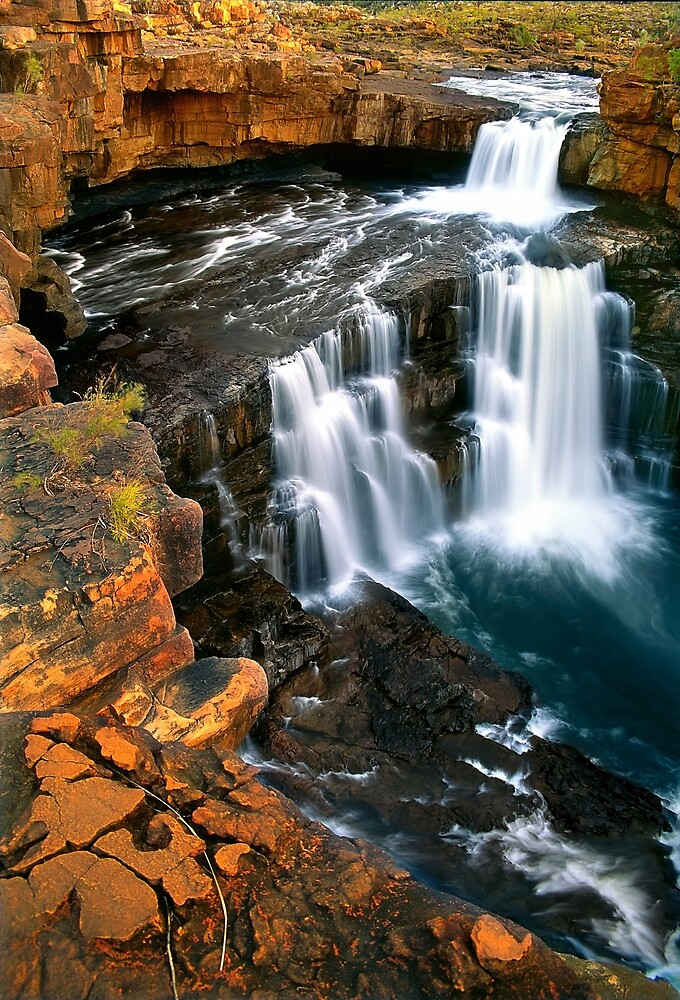 Mitchell Falls, The Kimberley by Kevin McGennan