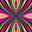 X Fractal by Steve Purnell