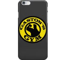 Gaston's Gym iPhone Case/Skin