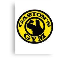 Gaston's Gym Canvas Print