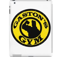 Gaston's Gym iPad Case/Skin