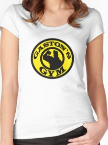 Gaston's Gym Women's Fitted Scoop T-Shirt