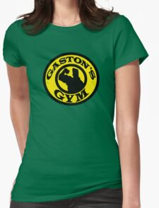 Gaston's Gym Womens Fitted T-Shirt