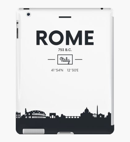 city skyline Rome iPad Case/Skin