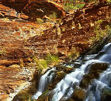 Fortesque Falls, Karijini NP by Kevin McGennan