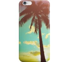 Retro Styled Palm Tree iPhone Case/Skin