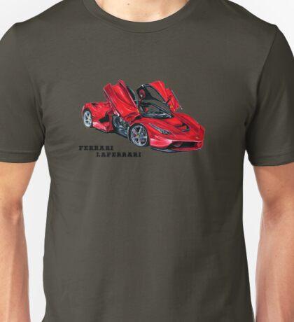 FERRARI LAFERRARI DRAWING Unisex T-Shirt