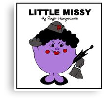 Little Missy Canvas Print