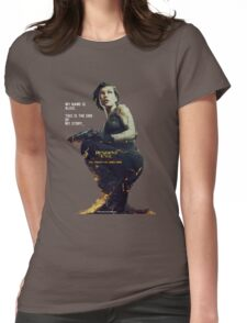 Resident Evil Alice Womens Fitted T-Shirt