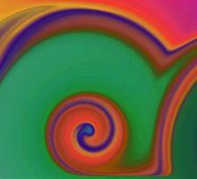 Colorful Southwestern Swirls by wondermintgifts
