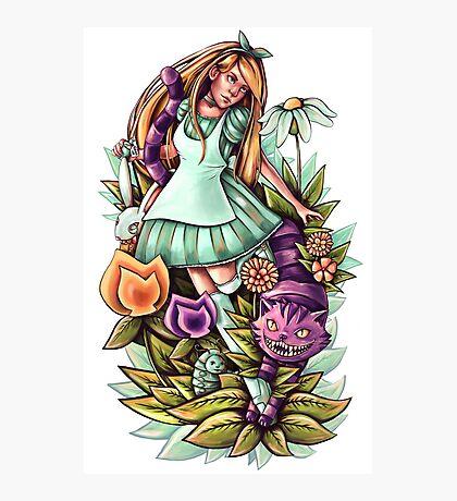 Alice in Wonderlandnd Photographic Print