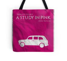 BBC Sherlock - A Study in Pink Tote Bag