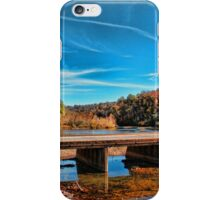 Autumn Low Water Bridge iPhone Case/Skin