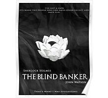 BBC Sherlock - The Blind Banker Poster
