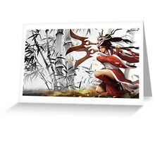 Lol Hero Akali League of Legends Greeting Card