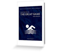 BBC Sherlock - The Great Game Greeting Card