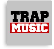 TRAP MUSIC - BASS PARTY Canvas Print