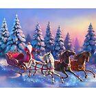 Happy New Year Three-Horses by Ldarro