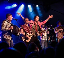 Bellowhead on stage by Catchlight-Pics
