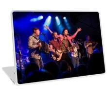 Bellowhead on stage Laptop Skin