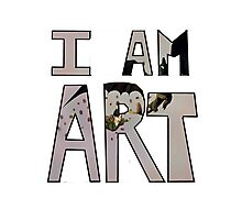 I AM ART - Hiccup&Toothless Photographic Print