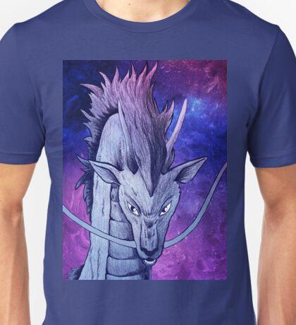 Spirited Away - Haku Dragon Portrait Artwork Unisex T-Shirt