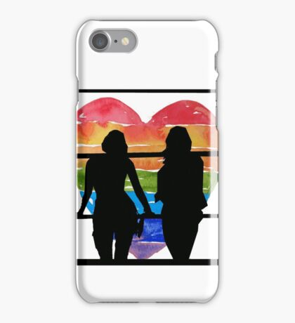 Sanvers Silhouette  iPhone Case/Skin