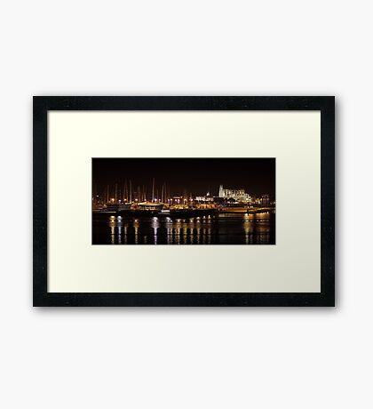 Cathedral of Santa Maria of Palma Framed Print