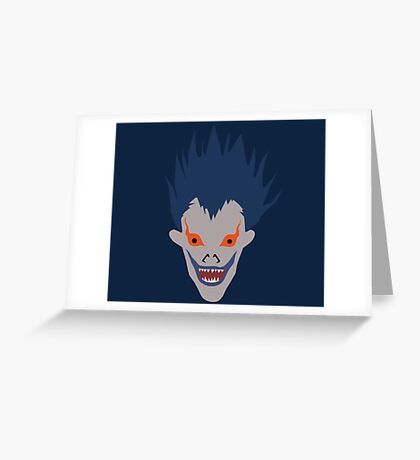 Minimal Ryuk Greeting Card
