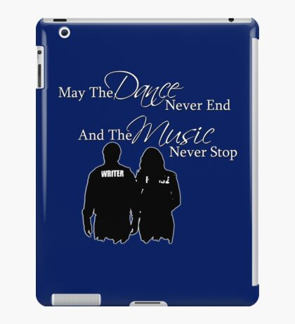 May the Dance Never End iPad Case/Skin
