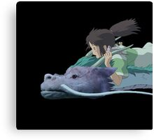Chihiro meets Falcor Canvas Print