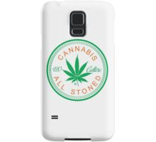 Cannabis Logorythm Samsung Galaxy Case/Skin