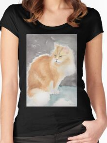Garden Cat 2 Women's Fitted Scoop T-Shirt