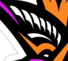 Pink swallow Logo Sticker