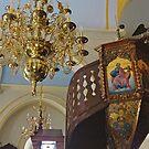 Panagia Tourliani Monastery/Mykonos by Nancy Richard