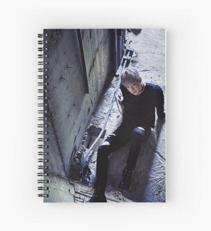 MonstaX Wonho Stuck Spiral Notebook