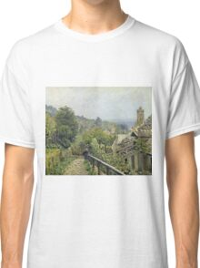 Alfred Sisley - Louveciennes Or, The Heights At Marly Classic T-Shirt