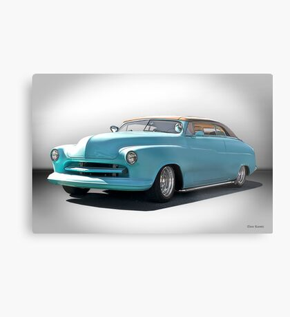 1950 Mecury 'Carson Top' Custom Metal Print