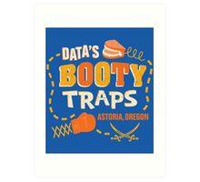 Data's Booty Traps Art Print