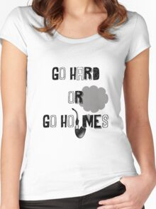 Go Hard or Go Holmes Women's Fitted Scoop T-Shirt