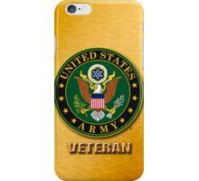 Army Veteran  iPhone Case/Skin